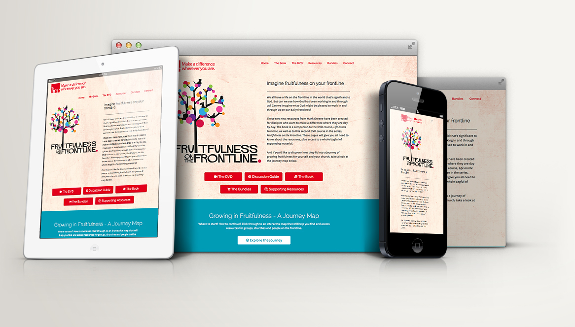 "LICC – ""Fruitfulness on the Frontline"" Landing Page"