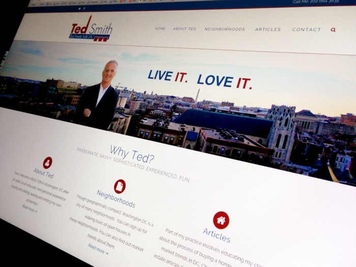 Ted Smith Sells DC WordPress site